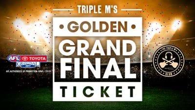 Golden Grand Final Ticket!