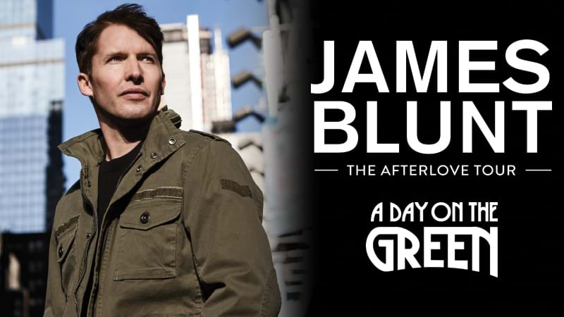 James Blunt announces Australia tour after stint as Ed Sheeran's 'bitch'