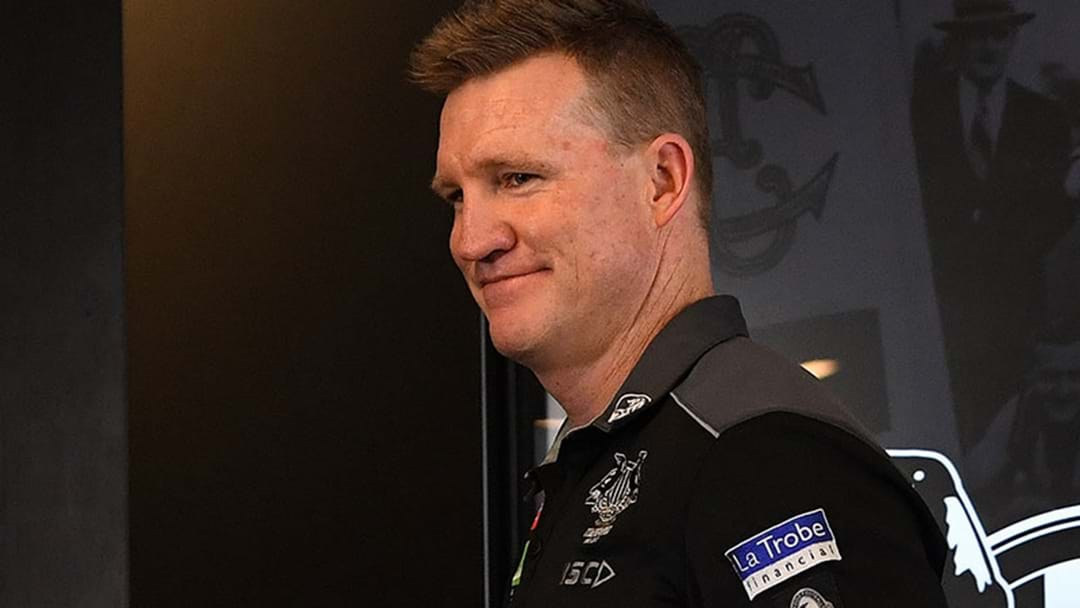 Nathan Buckley Takes The Piss Out Of Media Reporting