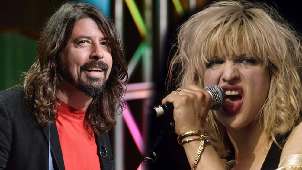 Article heading image for Have Dave Grohl & Courtney Love Made Up?