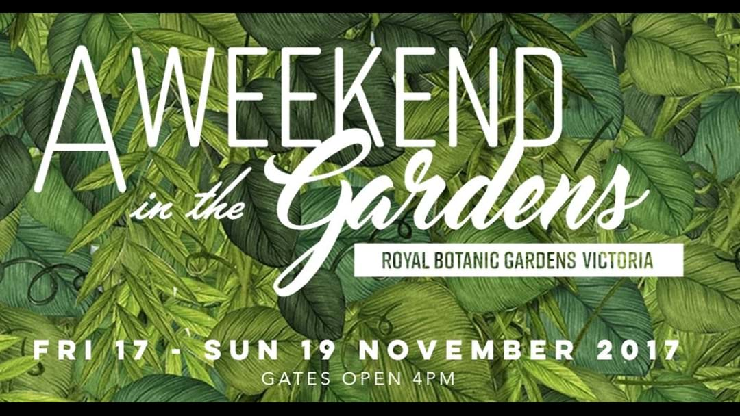 A Weekend In The Gardens Returns This November - With Paul Kelly!