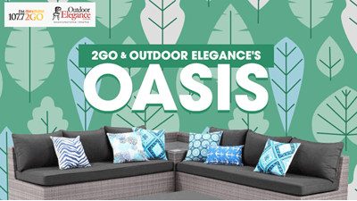 Win An Outdoor Oasis!