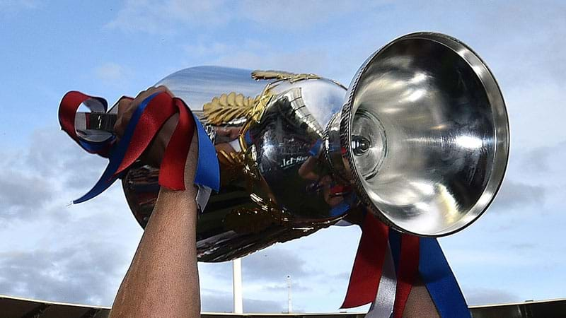Article heading image for How many pints fit in the AFL Premiership Cup??