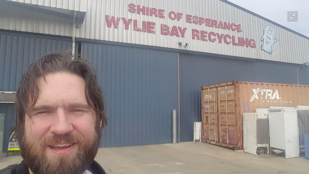 My Tour of the Wylie Bay Recycling Facility