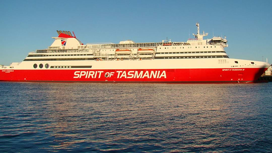 Fire Breaks Out At Spirit Of Tasmania Terminal