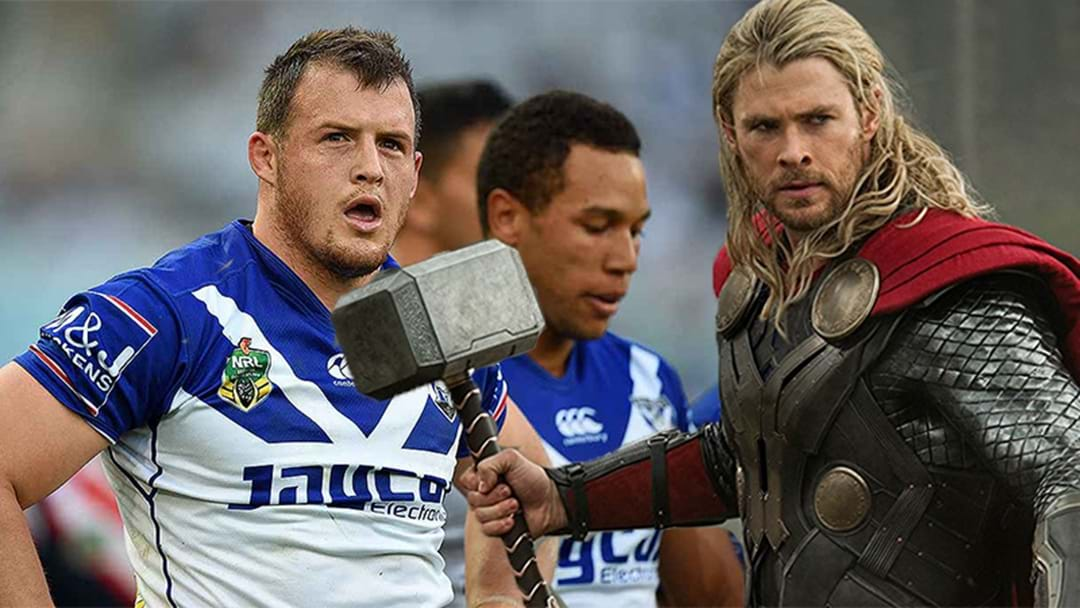 An NRL Player Has Fronted A Press Conference Dressed As Thor