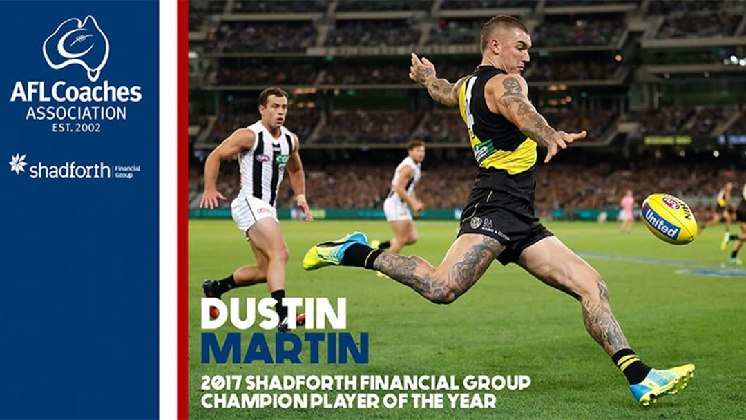 AFLCA Player of the Year 2017