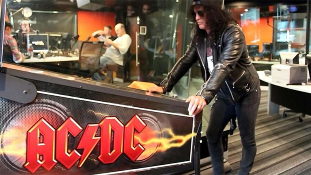 Mystery Surrounds Triple M's AC/DC Pinball Machine
