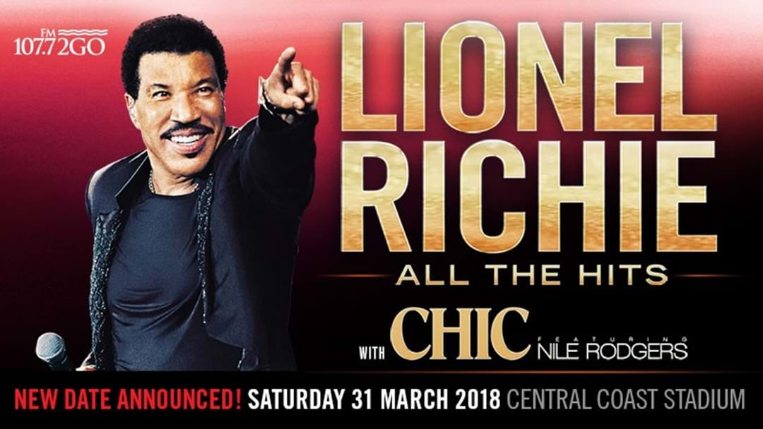 2GO is bringing Lionel Richie to Central Coast Stadium!