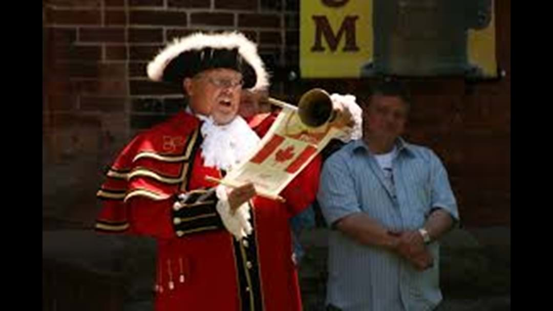 National Town Crier Championships - West Wyalong
