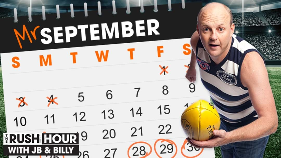 Are you Mr September?