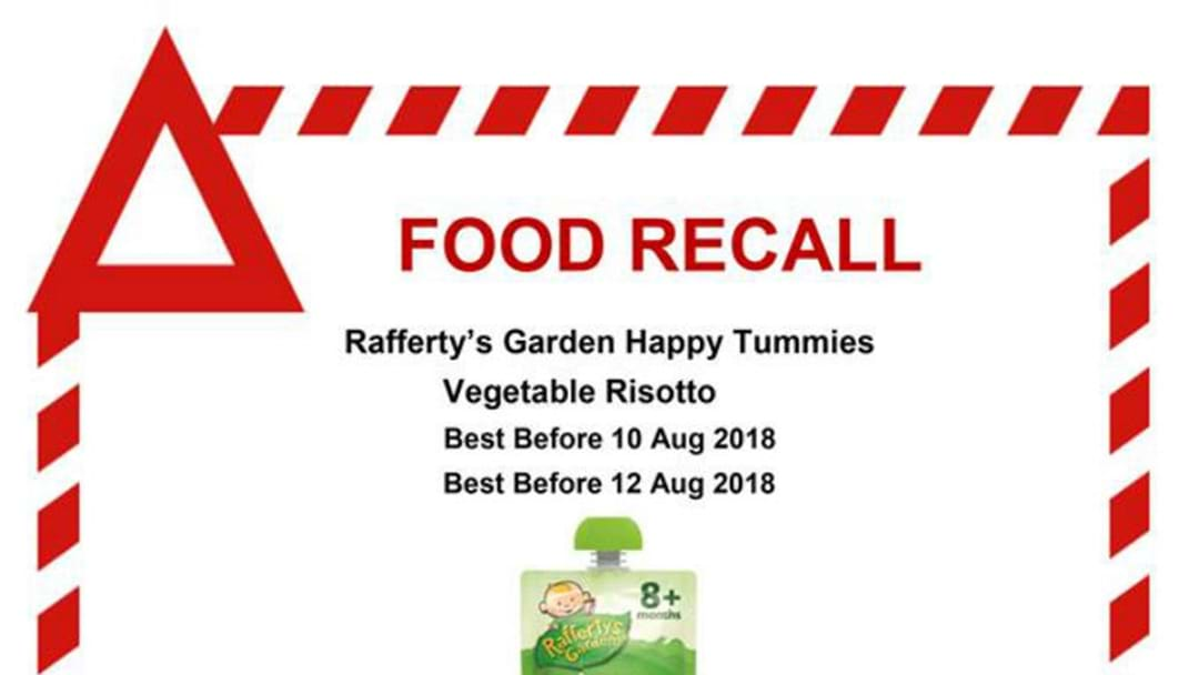 Glass Fears As Baby Food Recalled