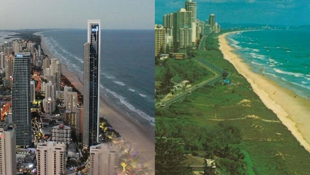 Gold Coast Beaches: NOW vs THEN