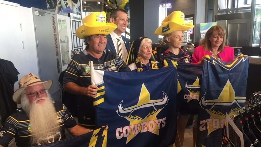 Cowboys Fans Out In Force For Finals