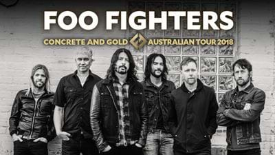 The Foo Fighters Concrete And Gold Australia Tour 2018!
