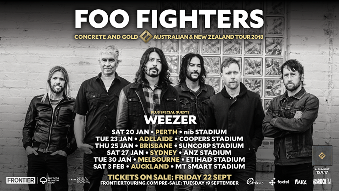 Foo Fighters Tour  Opening Act