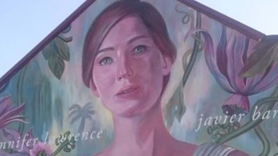 Iconic Sydney Mural Painted Over With Movie Ad