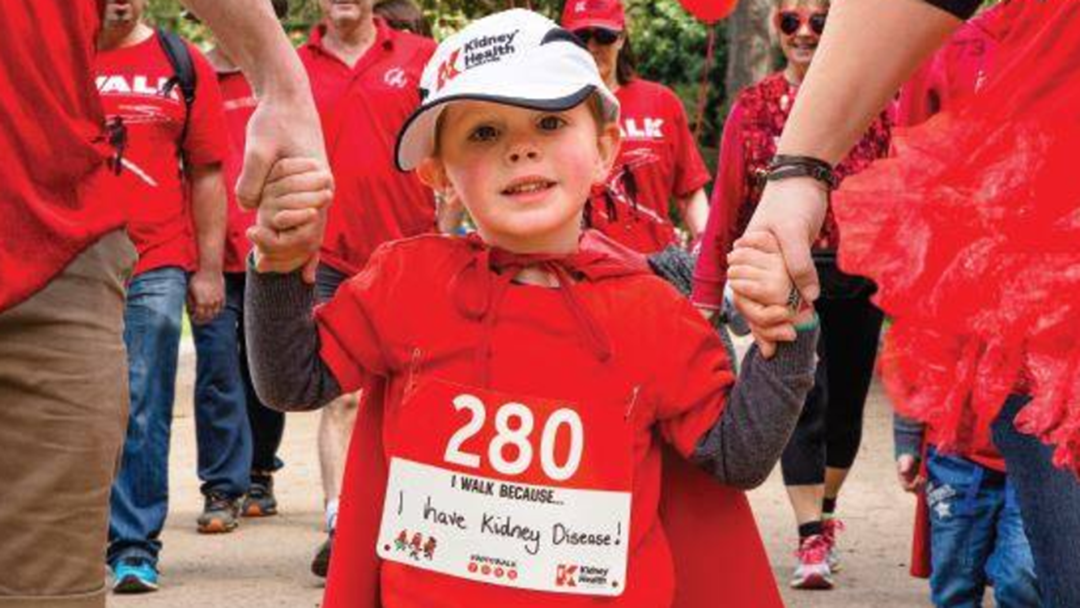 Townsville's First 'Big Red Kidney Walk' This Sunday