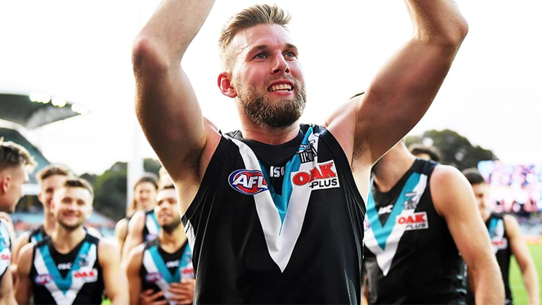 Jackson Trengove Believes He Should Have Played In Port Adelaide's Elimination Final