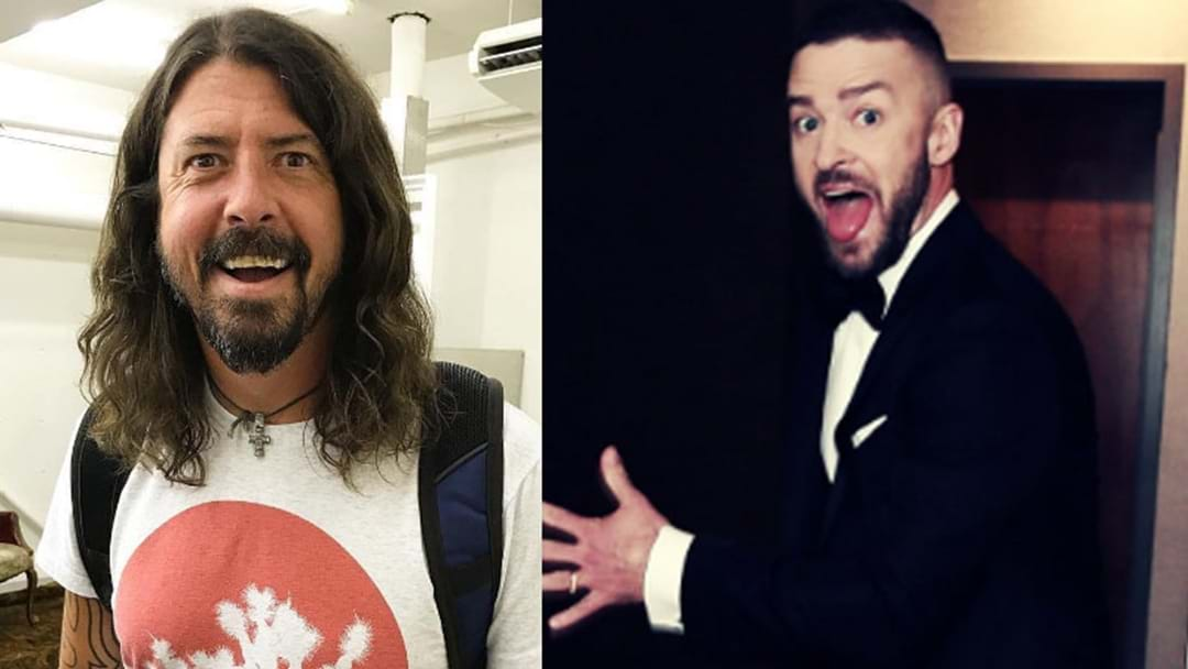 Foo Fighters Say Justin Timberlake 'Nailed' His Guest Vocals On Their New Album
