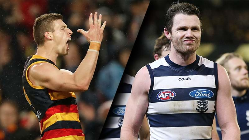 Article heading image for Patrick Dangerfield Responds To Josh Jenkins' Cheeky Dig At Him