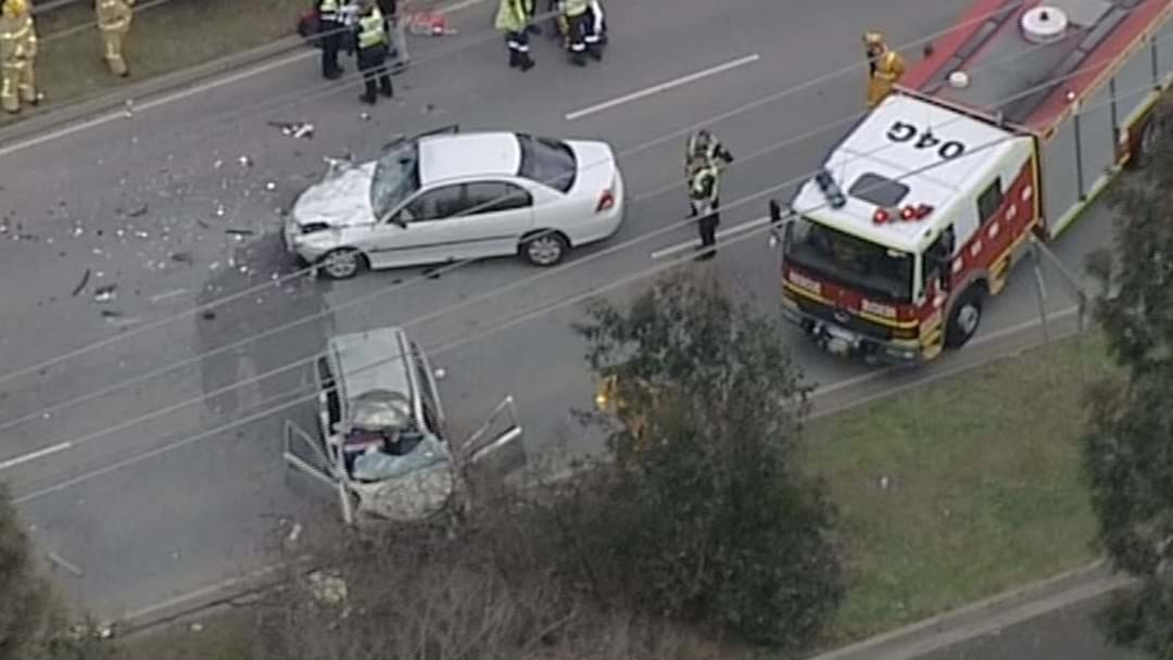 Fatal Collision On The Princes Highway