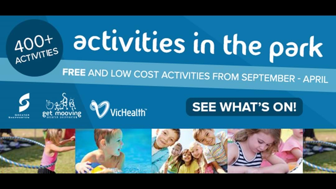 Activities in the Park - Greater Shepparton