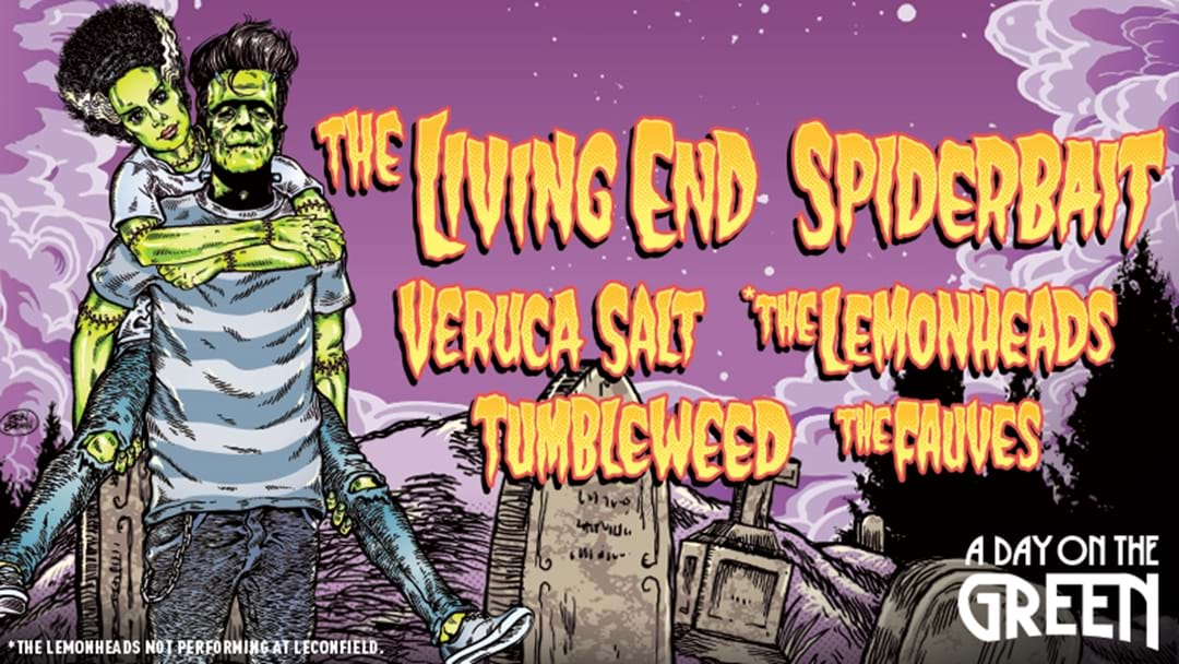 KOFM Presents A Day On The Green With The Living End