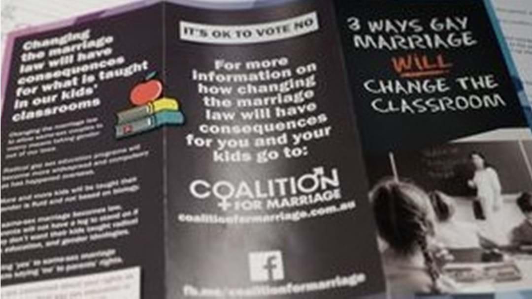 Vote 'No' Says Australian Christian Lobby