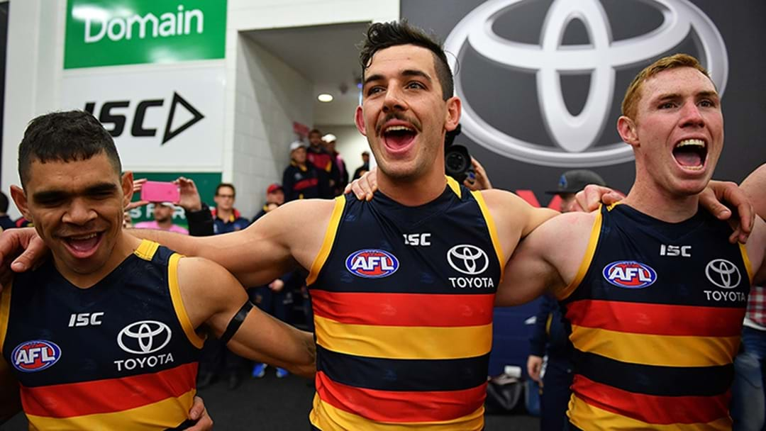 Adelaide 2018 Clash Jumper Options