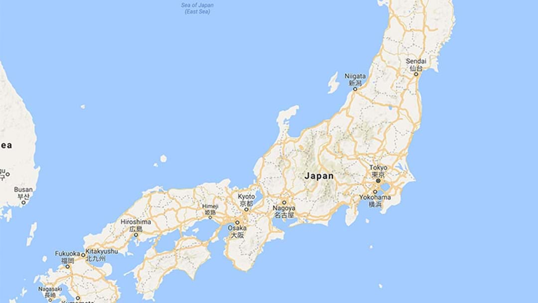 Japan Hit By Earthquake