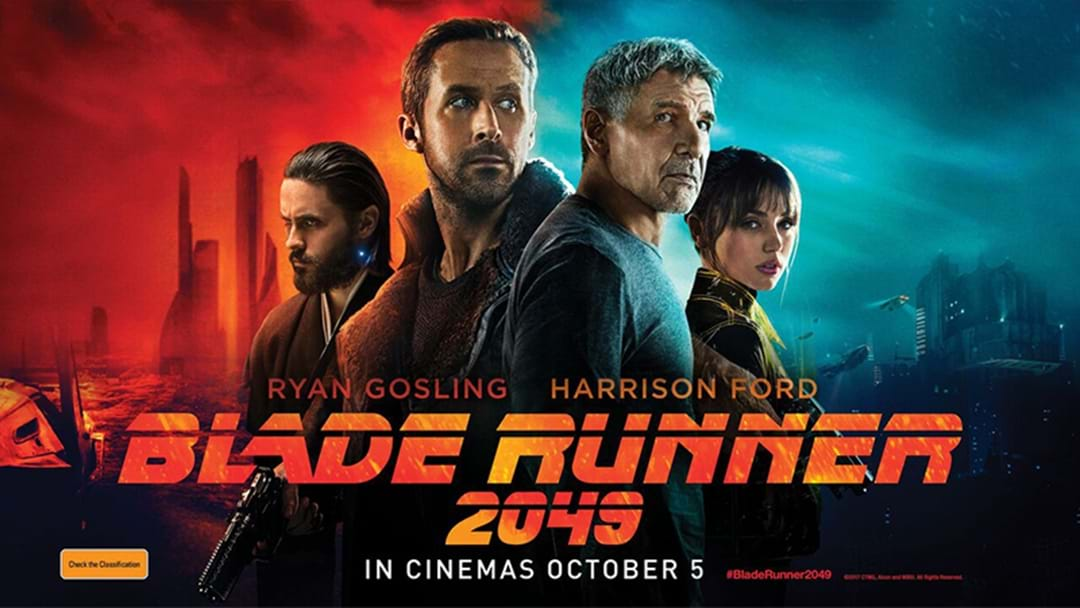 Triple M Club- Blade Runner 2049 Gold Class Opening Night Screening