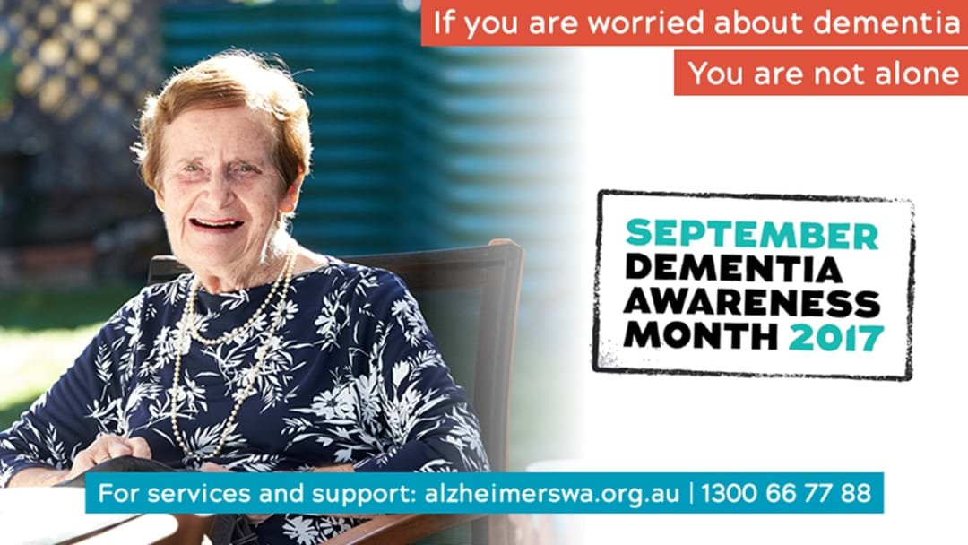 September is Dementia Awareness Month