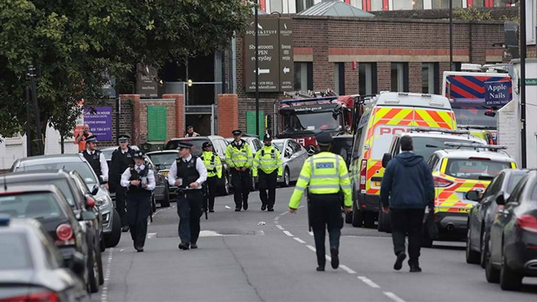 Teenager Arrested Over London Underground Attack