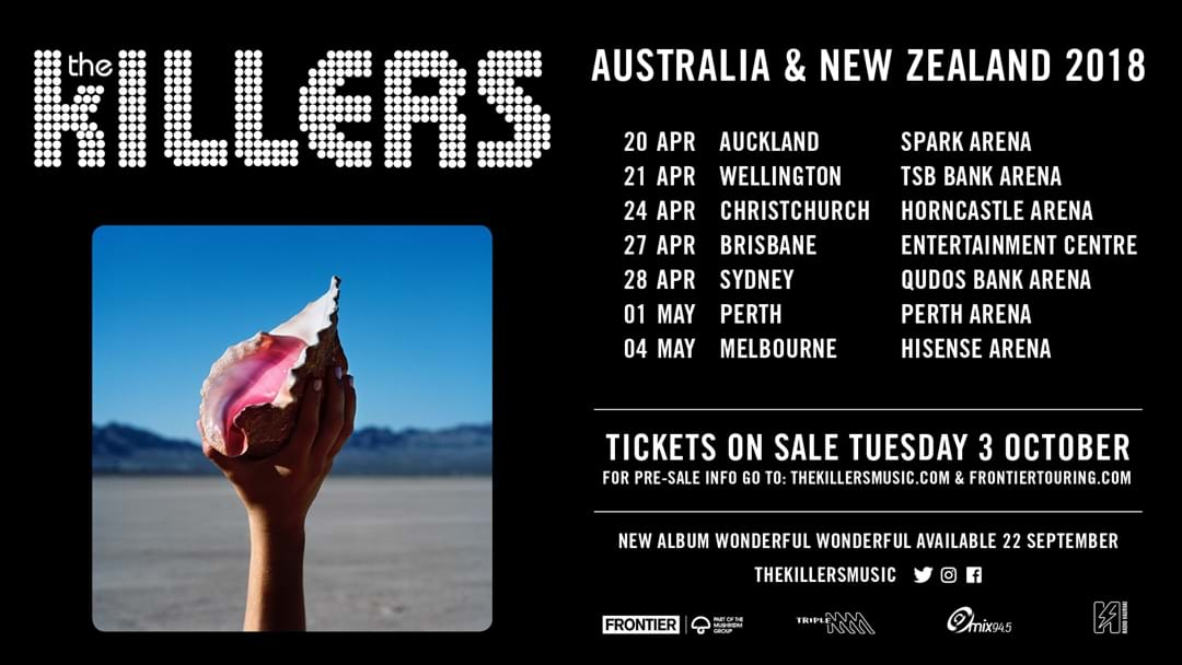 The Killers Announce Biggest Ever Australian Tour