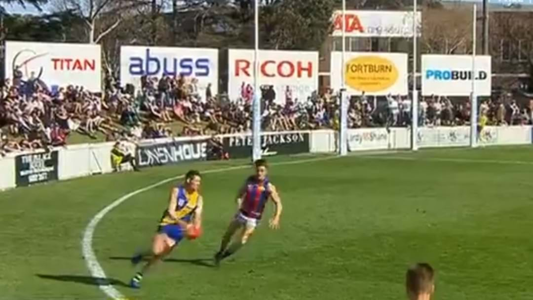 Former Saint Kicks A Ripper In VFL Final