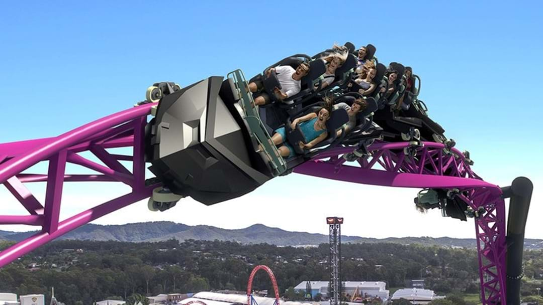 The tallest, fastest & longest HyperCoaster is open at Warner Bros. Movie World