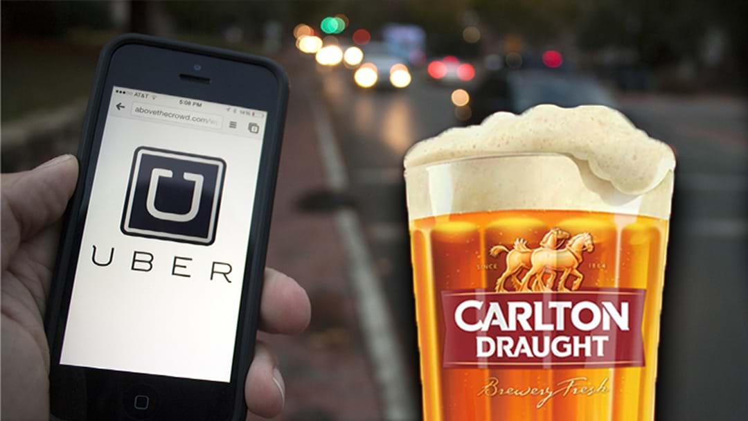 Uber Are Offering Free Rides On Grand Final Day