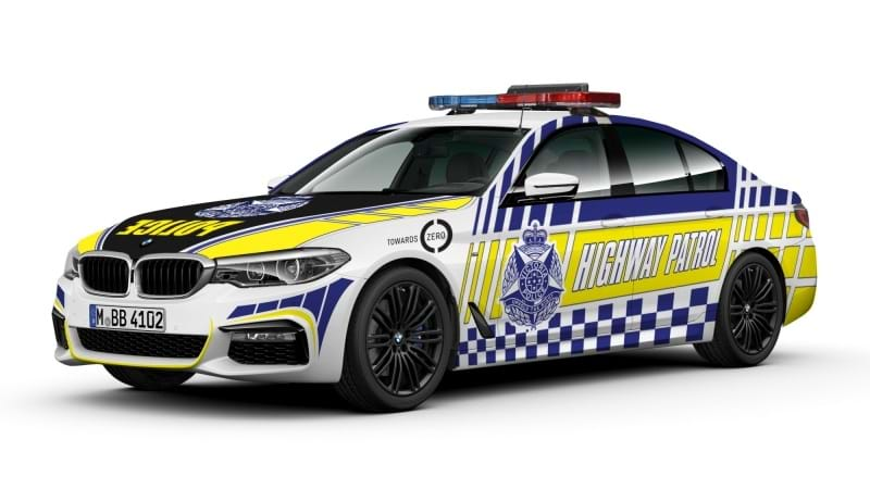 BMW 5 Series to become Victoria Police patrol vehicle