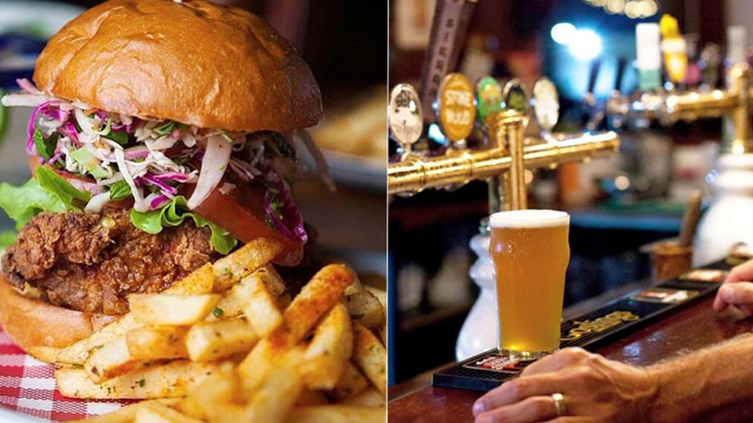 Burleigh Brewing are putting on a Beer Lunch this Friday