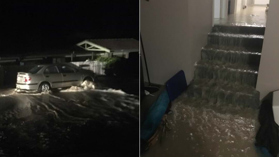 Burst Water Main Floods Homes In Elermore Vale