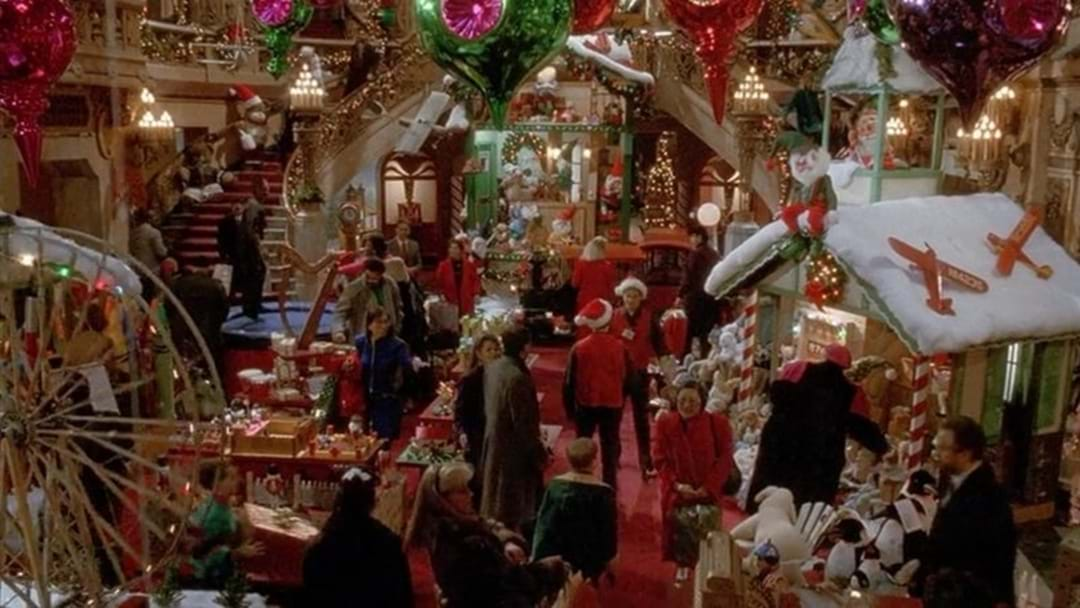 Toy Shop In New York From Home Alone