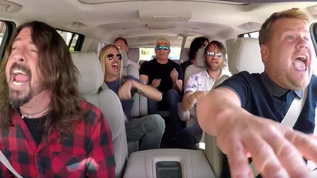 "The Foo Fighters Say Their Carpool Karaoke Appearance Was ""Uncomfortable"""