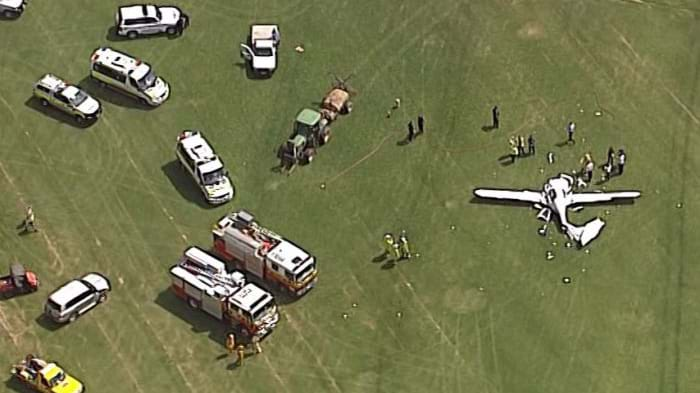 Two dead in light plane crash in southeast Queensland