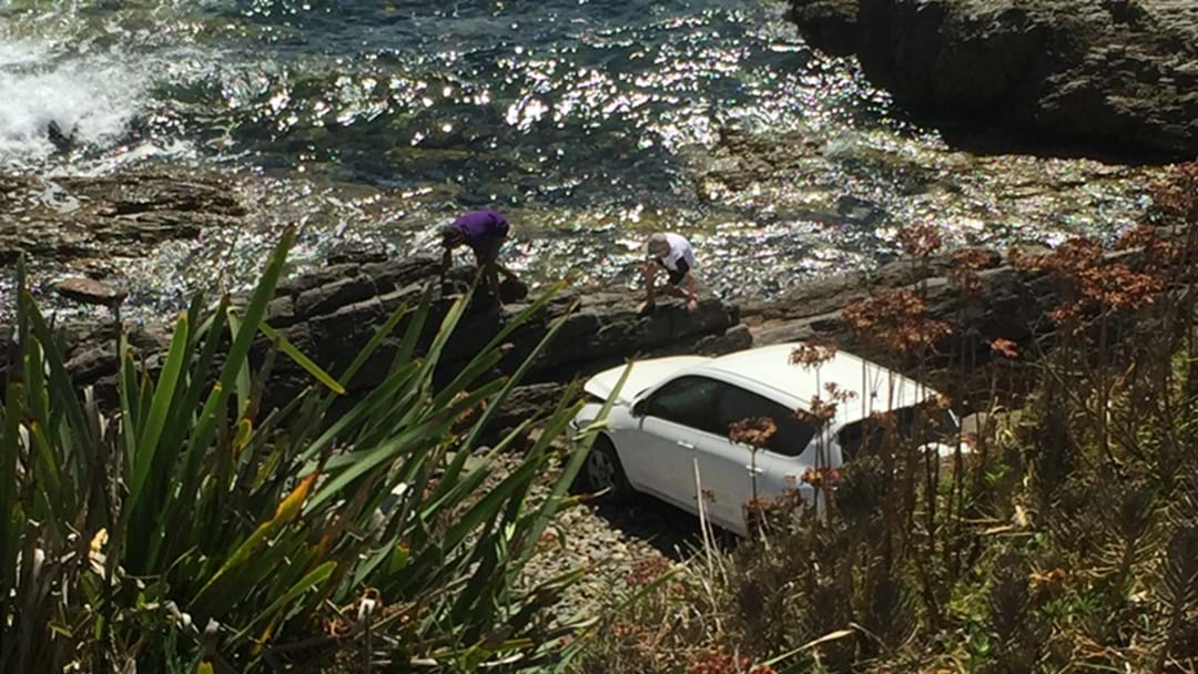 Teens Lucky To Be Alive After Car Plunged 20 Metres Off Cliff