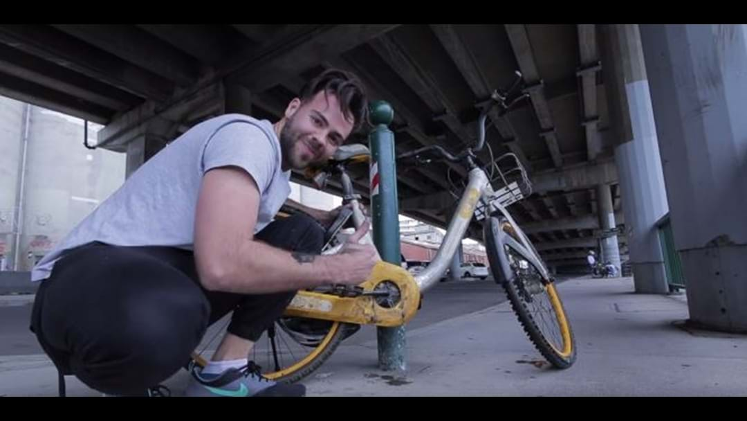 This Absolute Legend Has Found A Way To Tackle OBike Dumping