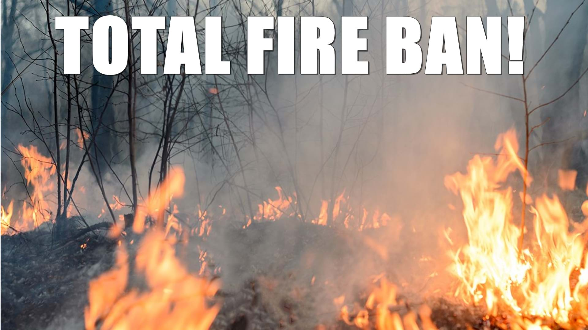 Article heading image for Total Fire Ban Issued For Tuesday Around The Goldfields