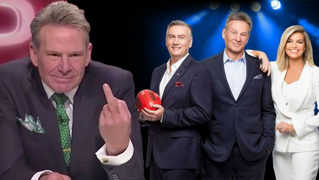 Lu gets Sam Newman all flustered!