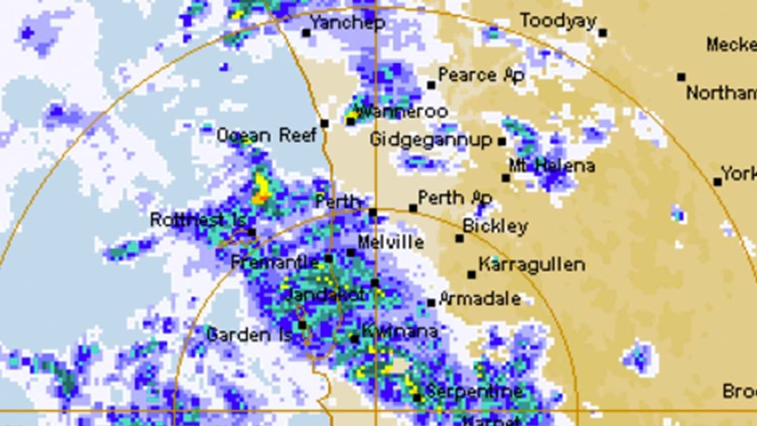 It's About To PELT Down In Perth