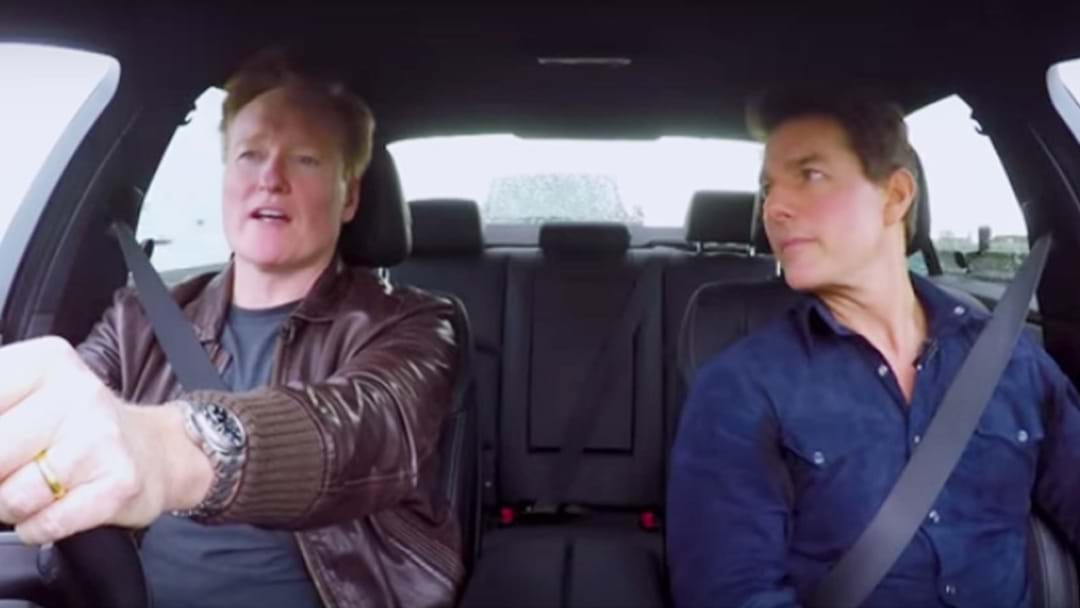 Conan O'Brian's Hilariously Boring Version Of 'Carpool Karaoke'
